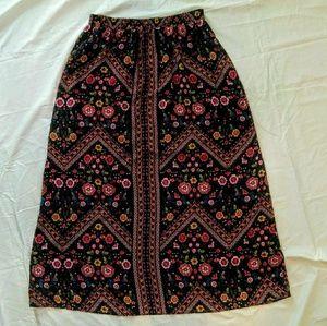 Xhilaration XXL Multi Colored Print Skirt Preowned